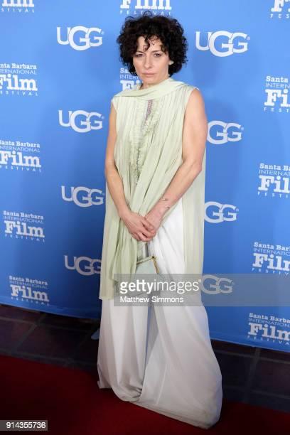 Actress Lidia Vitale at the Santa Barbara Award Honoring Saoirse Ronan Presented By UGG during The 33rd Santa Barbara International Film Festival at...