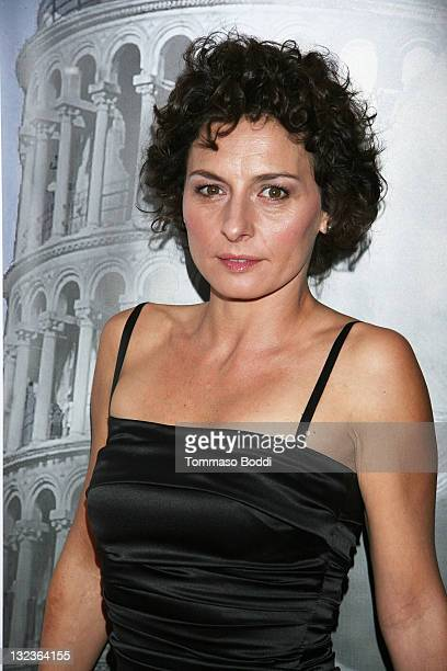 """Actress Lidia Vitale attends the Cinema Italian Style 2011 opening night gala screening of """"Terraferma"""" held at the Egyptian Theatre on November 11,..."""