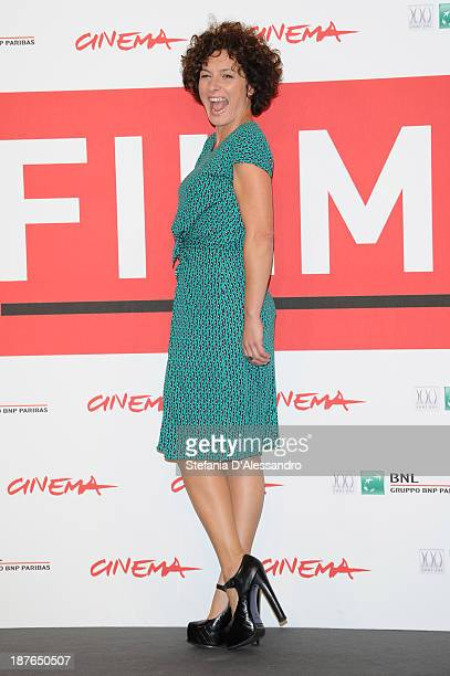 Actress Lidia Vitale attends the 'La Santa' Photocall during the 8th Rome Film Festival at the Auditorium Parco Della Musica on November 11, 2013 in...