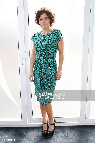 Actress Lidia Vitale poses for a portrait during the 8th Rome Film Festival at the Auditorium Parco Della Musica on November 11 2013 in Rome Italy
