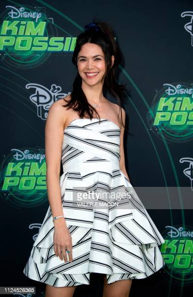 Actress Lilan Bowden attends the world premiere of Disney channel original movie 'Kim Possible' in North Hollywood California on February 12 2019