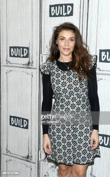 Actress Lili Mirojnick attends Build to discuss 'Happy' at Build Studio on December 6 2017 in New York City