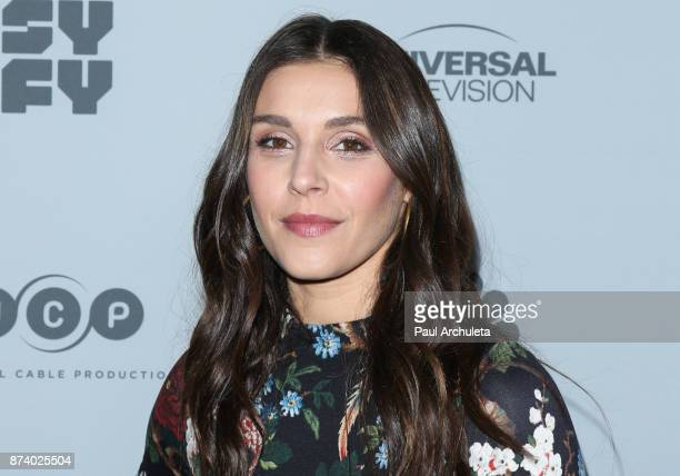 Actress Lili Mirojnick attends NBCUniversal's press junket at Beauty Essex on November 13 2017 in Los Angeles California