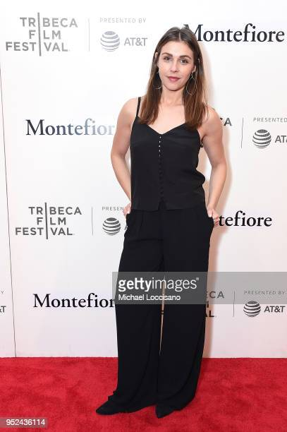 Actress Lili Mirojnick attends the premiere of Summertime with Tribeca Talks Storytellers during the 2018 Tribeca Film Festival at BMCC Tribeca PAC...