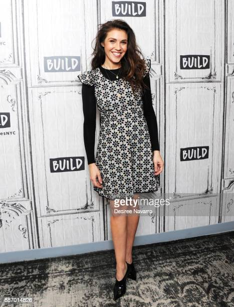 Actress Lili Mirojnick visits Build to discuss 'Happy' at Build Studio on December 6 2017 in New York City
