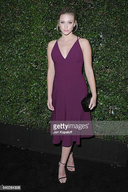 Actress Lili Reinhart arrives at Max Mara Celebrates Natalie DormerThe 2016 Women In Film Max Mara Face Of The Future at Chateau Marmont on June 14...