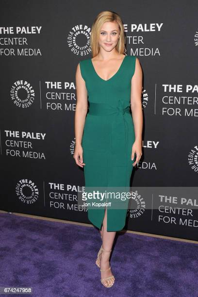 """Actress Lili Reinhart arrives at the 2017 PaleyLive LA Spring Season """"Riverdale"""" Screening And Conversation at The Paley Center for Media on April..."""