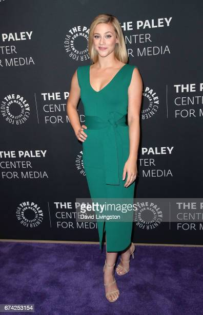 Actress Lili Reinhart attends the 2017 PaleyLive LA Spring Season 'Riverdale' screening and conversation at The Paley Center for Media on April 27...