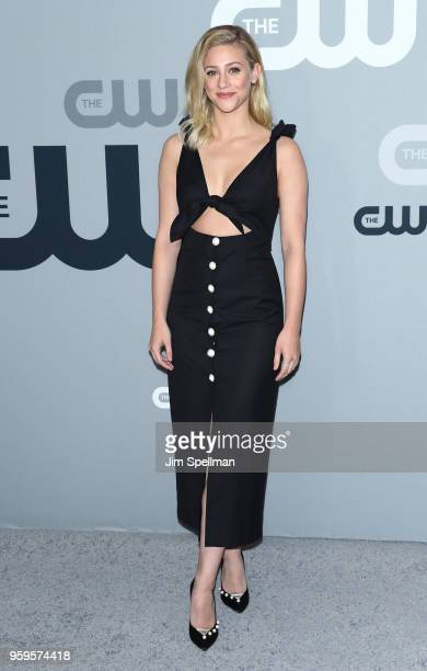 Actress Lili Reinhart attends the 2018 CW Network Upfront at The London Hotel on May 17 2018 in New York City