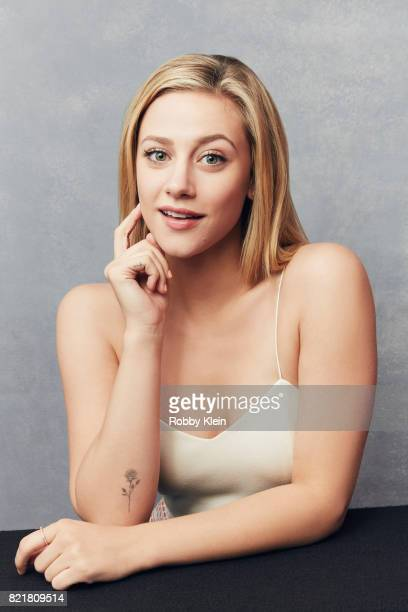 Actress Lili Reinhart from CW's 'Riverdale' poses for a portrait during ComicCon 2017 at Hard Rock Hotel San Diego on July 22 2017 in San Diego...