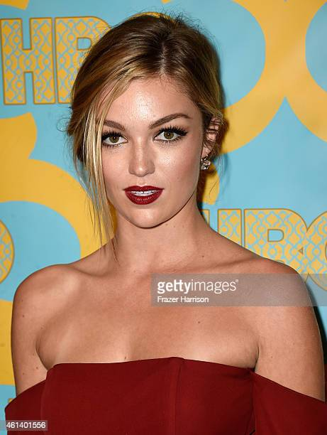 Actress Lili Simmons attends HBO's Post 2015 Golden Globe Awards Party at Circa 55 Restaurant on January 11 2015 in Los Angeles California