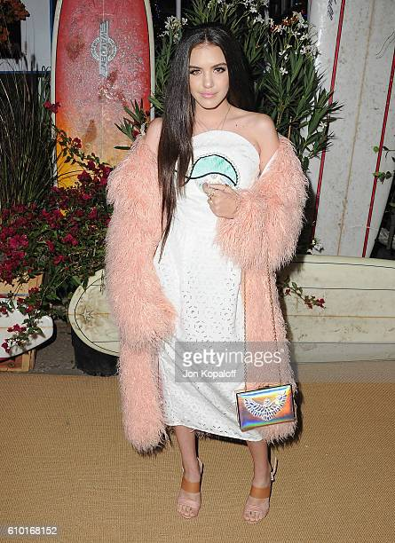 Actress Lilimar Hernandez arrives at Teen Vogue Celebrates 14th Annual Young Hollywood Issue at Reel Inn on September 23 2016 in Malibu California