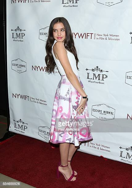 Actress Lilimar Hernandez attends the screening of 'Little Miss Perfect' at The TCL Chinese Theatre on May 26 2016 in Hollywood California