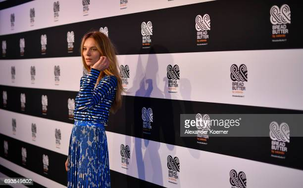 Actress Lilith Stangenberg arrives at the Bread Butter by Zalando 2017 Preview Event at Holzmarkt25 on June 8 2017 in Berlin Germany