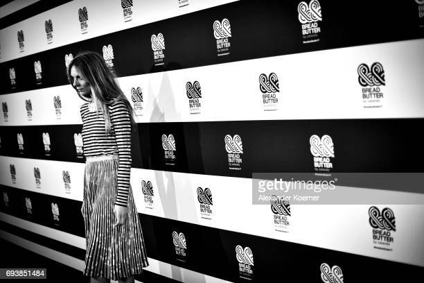 Actress Lilith Stangenberg arrives for the Bread Butter by Zalando 2017 Preview Event at Holzmarkt25 on June 8 2017 in Berlin Germany