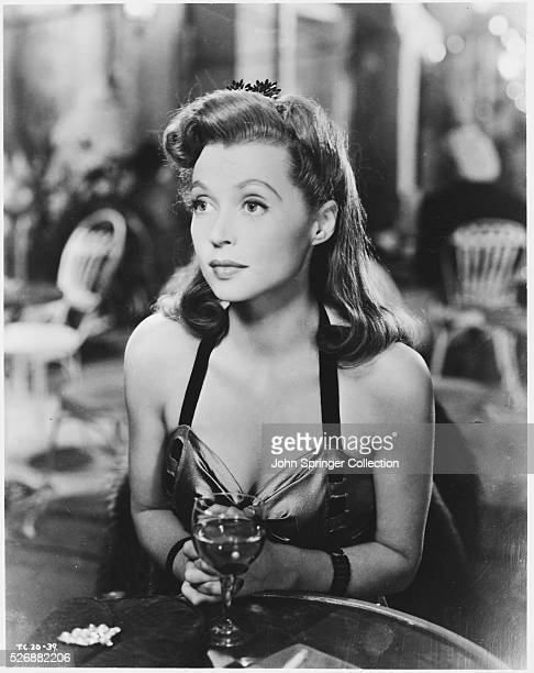 Actress Lilli Palmer as Brigid Knudsen in the film English Without Tears.
