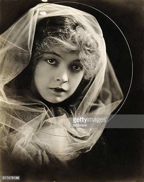 Actress Lillian Gish as Elsie stoneman in The Birth of a Nation