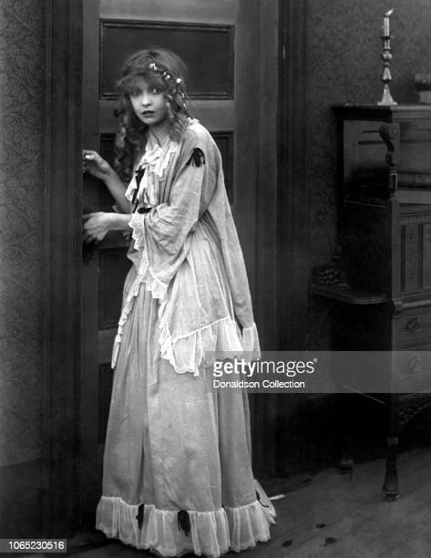 Actress Lillian Gish in a scene from the movie The Birth of a Nation