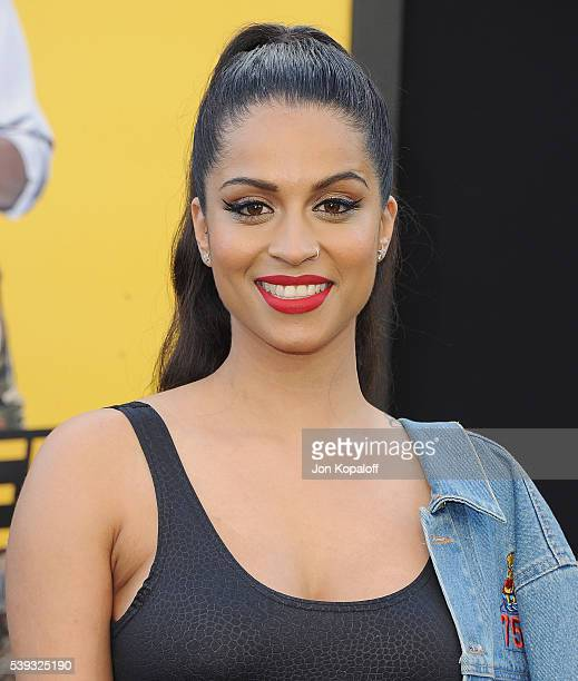 Actress Lilly Singh arrives at the Los Angeles Premiere 'Central Intelligence' at Westwood Village Theatre on June 10 2016 in Westwood California
