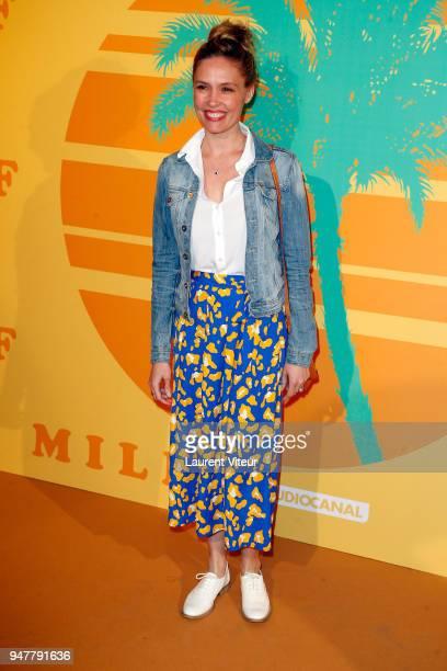 Actress Lilou Fogli attends 'MILF' Paris Premiere at Cinema Gaumont Capucine on April 17 2018 in Paris France