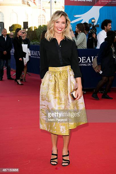Actress Lilou Fogli attends the 'Jamais Entre Amis' Premiere during the 41st Deauville American Film Festival on September 6 2015 in Deauville France