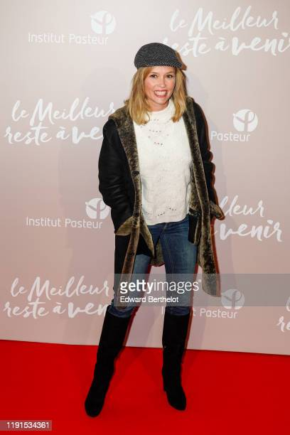 Actress Lilou Fogli attends the Le Meilleur Reste A Venir Premiere At Le Grand Rex on December 02 2019 in Paris France