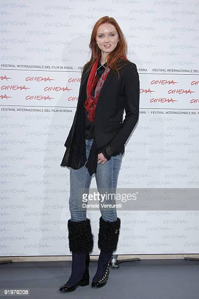 Actress Lily Cole attends 'The Imaginarium Of Doctor Parnassus' Photocall during day 4 of the 4th Rome International Film Festival held at the...
