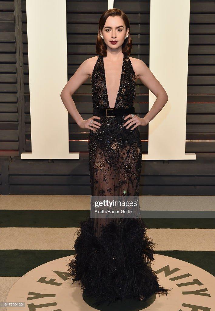 2017 Vanity Fair Oscar Party Hosted By Graydon Carter : Foto jornalística