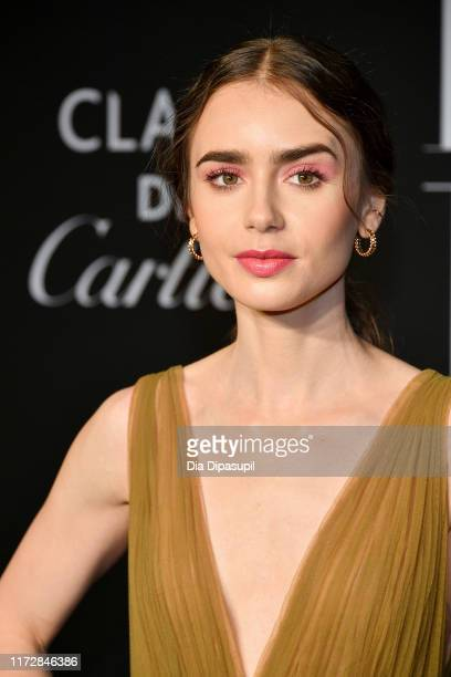 Actress Lily Collins attends the 2019 Harper's Bazaar ICONS on September 06 2019 in New York City
