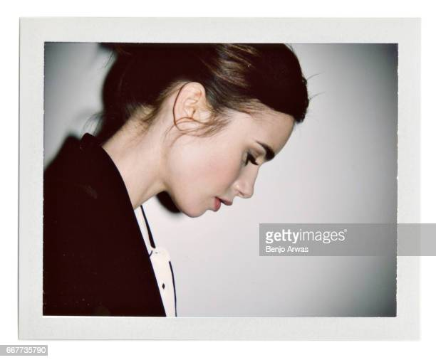 Actress Lily Collins is photographed for The Wrap on December 15 2016 in Los Angeles California