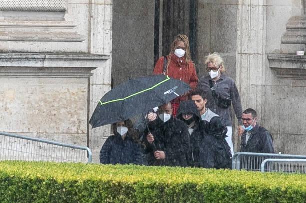 "FRA: ""Emily In Paris"" : Filming In Paris"