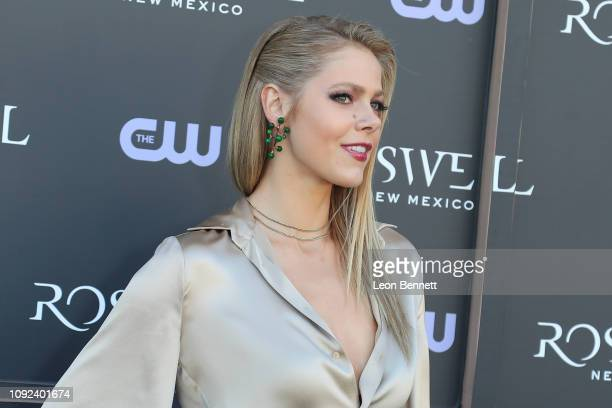 Actress Lily Cowles attends The CW's Crashdown on Sunset Experience launch celebration of Roswell New Mexico at The CW's Crashdown on Sunset...
