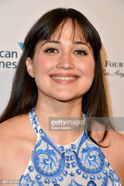 Actress Lily Gladstone attends The BAFTA Tea Party at Four Seasons Hotel Los Angeles at Beverly Hills on January 7 2017 in Los Angeles California