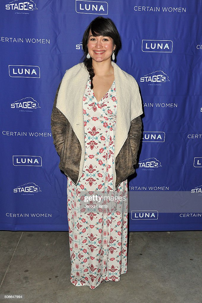 Actress Lily Gladstone attends the Certain Women event hosted by Luna at Sundance Film Festival on January 24, 2016 in Park City, Utah.