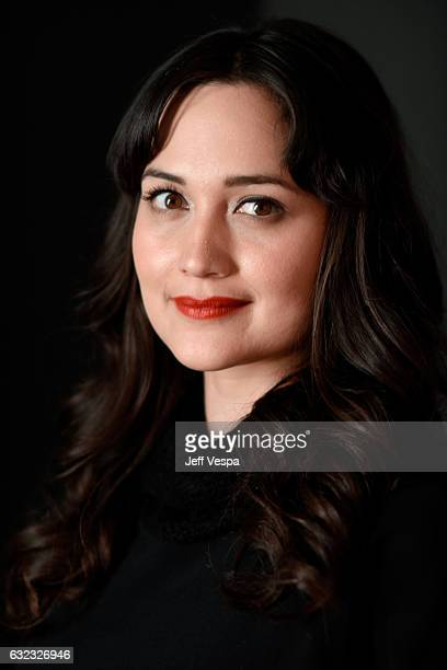 Actress Lily Gladstone from the film 'Walking Out' poses for a portrait in the WireImage Portrait Studio presented by DIRECTV during the 2017...