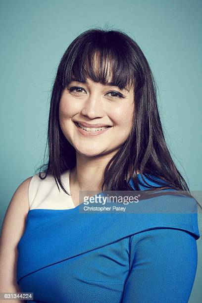 Actress Lily Gladstone poses for a portraits 2017 Film Independent filmmaker grant and Spirit Award nominees brunch at BOA Steakhouse on January 7...