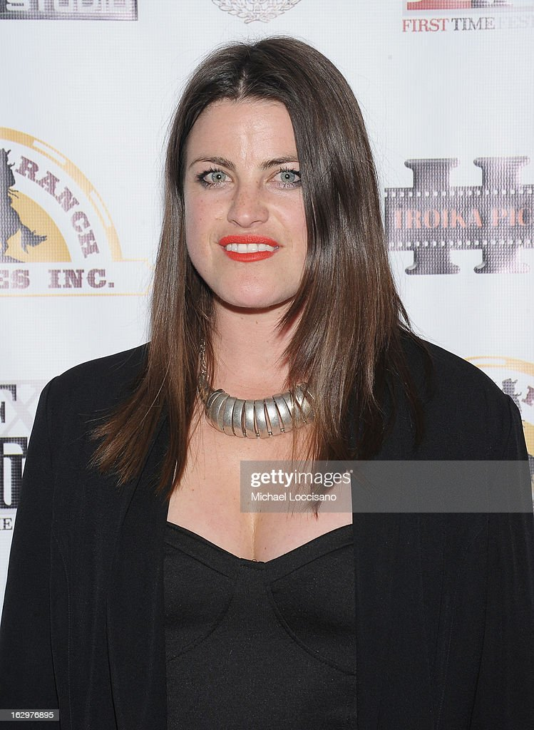 Actress Lily Hall attends the opening night party for the 2013 First Time Fest at The Players Club on March 1, 2013 in New York City.