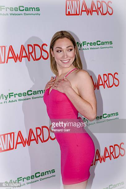 Actress Lily Labeau arrives for the 2017 AVN Nomination Party at Avalon on November 17 2016 in Hollywood California
