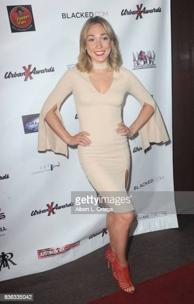 Actress Lily LaBelle arrives for the 6th Urban X Awards held at Stars On Brand on August 20 2017 in Glendale California