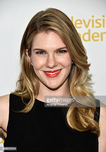 Actress Lily Rabe arrives at An Evening With The Women Of 'American Horror Story' presented by the Television Academy at The Montalban on March 17...