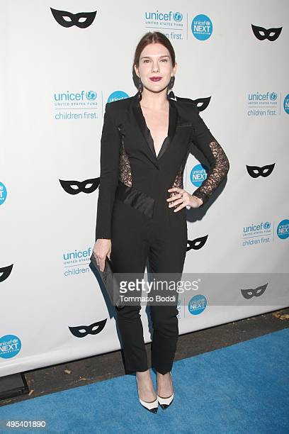 Actress Lily Rabe at the UNICEF Next Generation Third Annual UNICEF Black White Masquerade Ball benefiting UNICEF's lifesaving programs including...