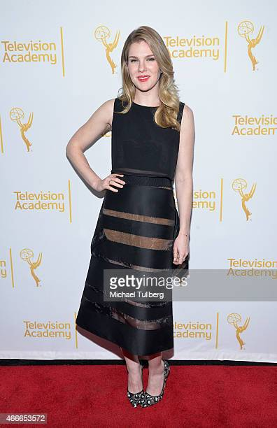 Actress Lily Rabe attends An Evening With The Women Of 'American Horror Story' presented by the Television Academy at The Montalban on March 17 2015...