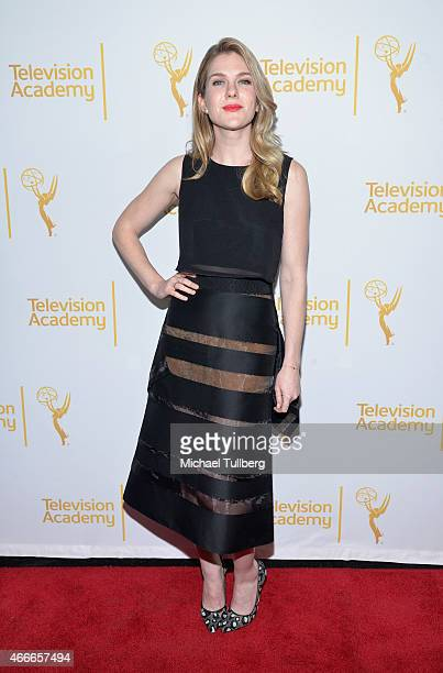 Actress Lily Rabe attends 'An Evening With The Women Of 'American Horror Story'' presented by the Television Academy at The Montalban on March 17...