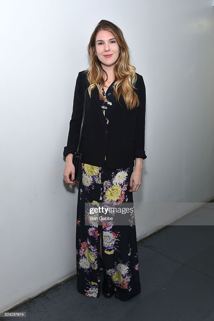 Actress Lily Rabe attends the Revival Screening of Bernardo Bertolucci's LA LUNA at Anthology Film Archives on April 25, 2016 in New York City.