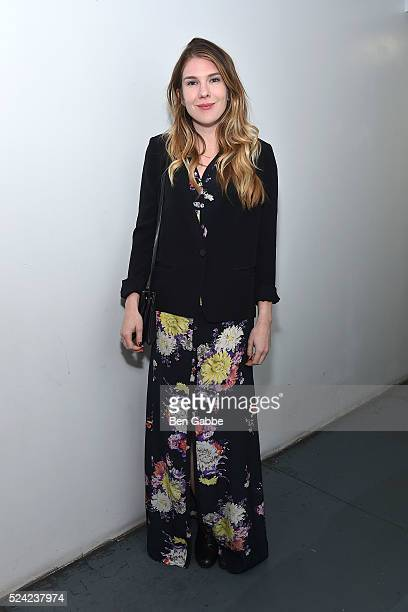 Actress Lily Rabe attends the Revival Screening of Bernardo Bertolucci's LA LUNA at Anthology Film Archives on April 25 2016 in New York City