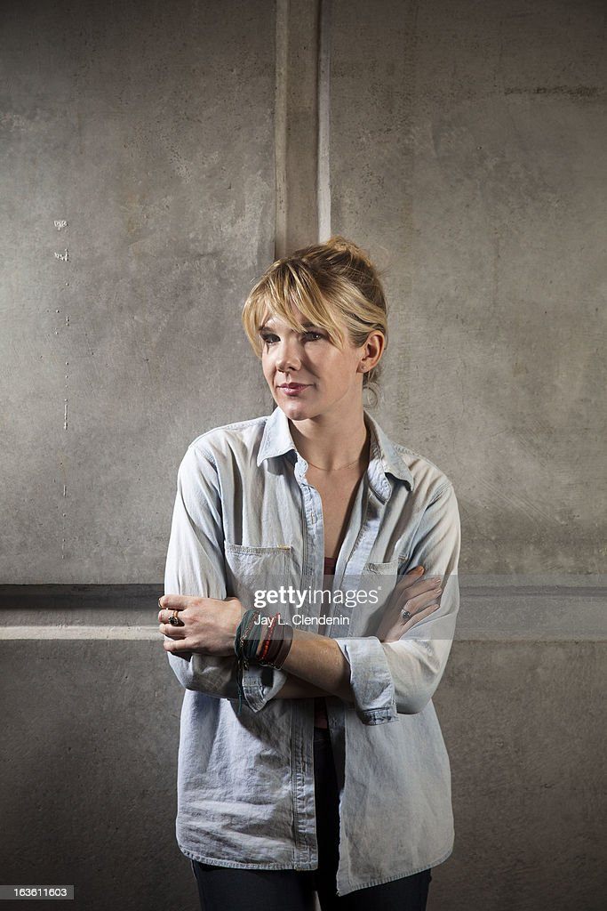 Actress Lily Rabe is photographed for Los Angeles Times on February 25, 2013 in Westwood, California. PUBLISHED IMAGE.