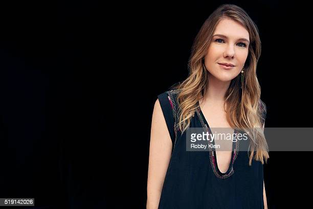 Actress Lily Rabe is photographed for The Wrap on March 13 2016 in Austin Texas