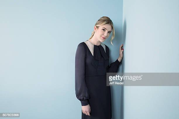 Actress Lily Rabe is photographed for TV Guide Magazine on January 14 2015 in Pasadena California