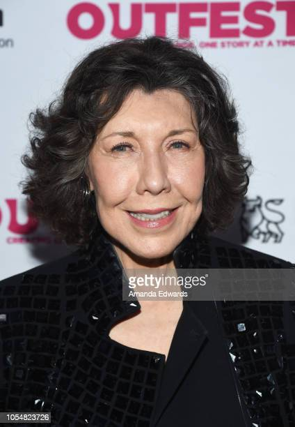 Actress Lily Tomlin arrives at the 13th Annual Outfest Legacy Awards at Vibiana on October 28 2018 in Los Angeles California