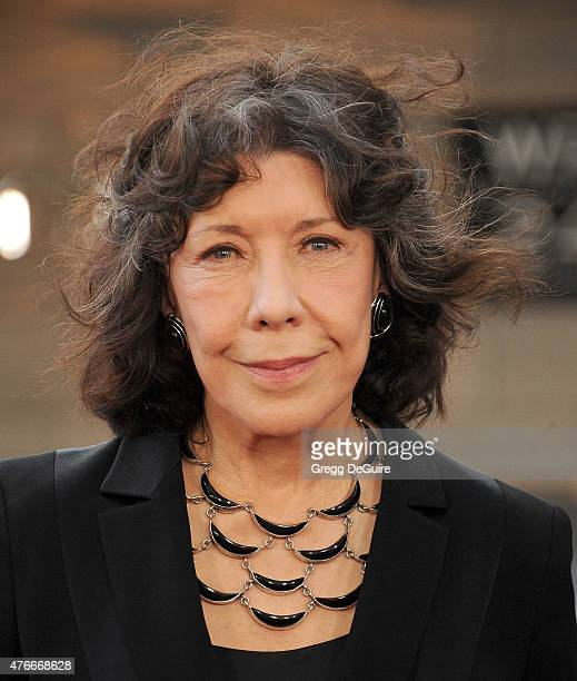 Actress Lily Tomlin arrives at the 2015 Los Angeles Film Festival opening night premiere of Grandma at Regal Cinemas LA Live on June 10 2015 in Los...